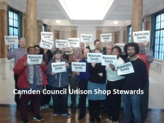 Camden Unison shop stewards
