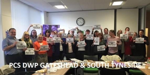 DWP Gateshead and s tyneside