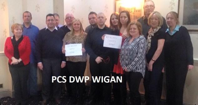 DWP wigan