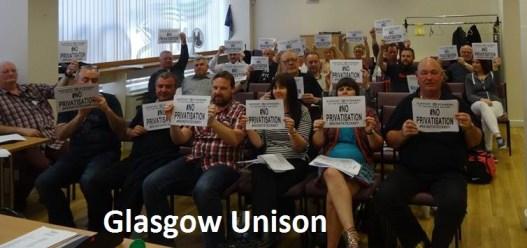 Glasgow unison committee