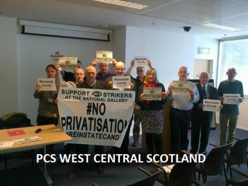 PCS West Central Scotland Branch