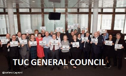 TUC general council NAMED