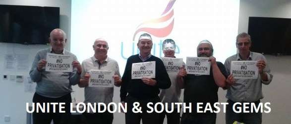Unite london and regional gems industrial sector committee