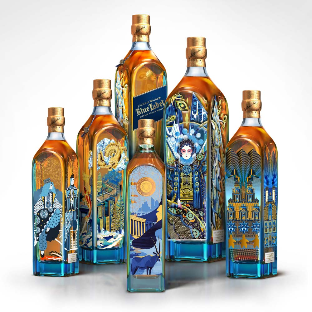 johnnie walker, Ngon, Manchester Agency, 3d artist