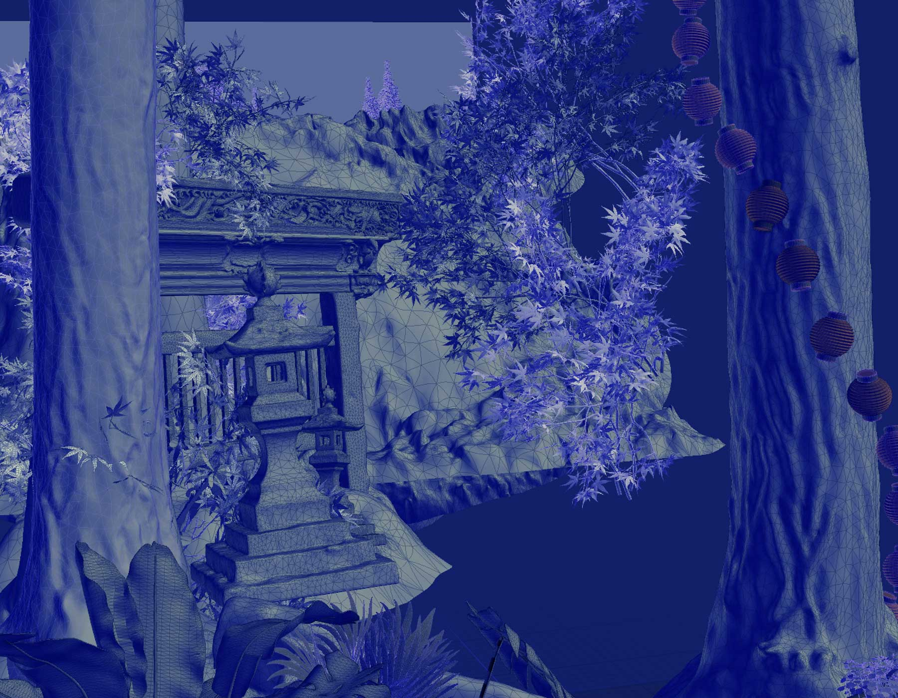 studio ghibli, my neighbor totoro, Johnnie Walker, Ngon, Manchester Agency, 3d artist