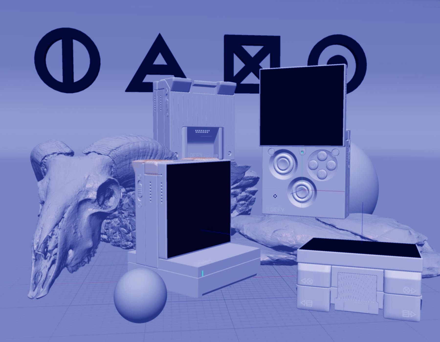defy, console, Ngon, Manchester Agency, 3d artist