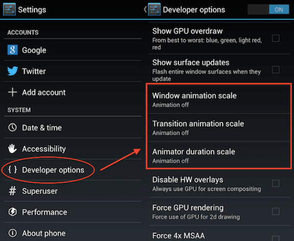 Android_Developer_Options