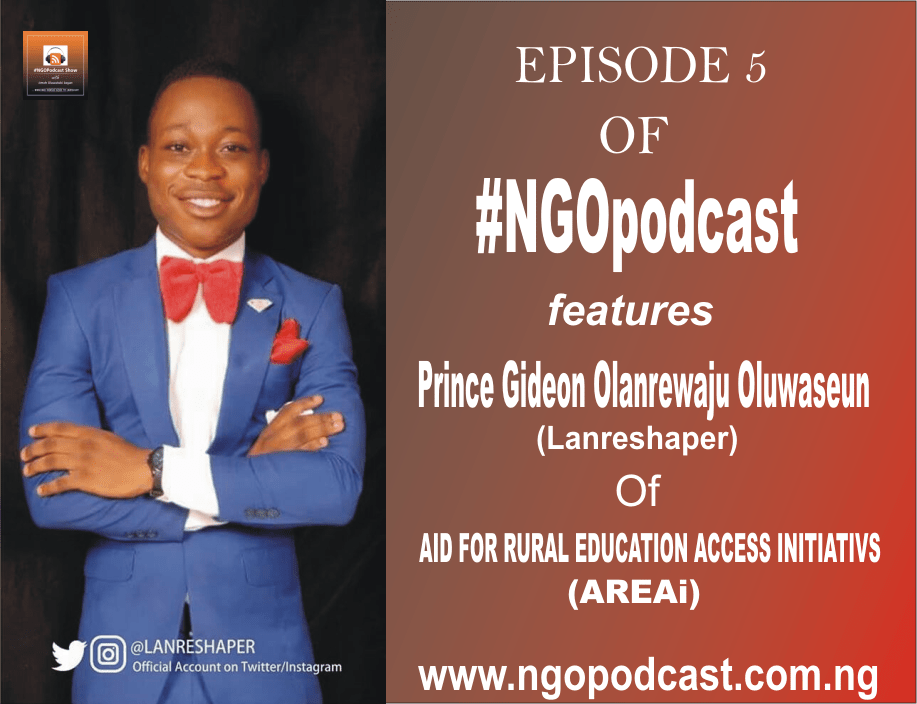 NGOP005-INTERVIEW WITH LANRESHAPER(ACCESS FOR RURAL EDUCATION ACCESS INITIATIVES)