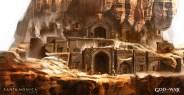 Jung Park God of War: Ascension concept art