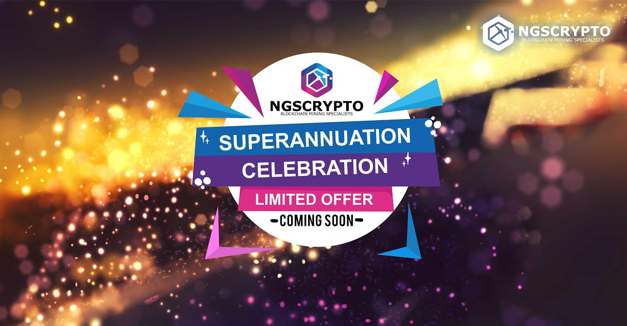 IT'S A SUPERANNUATION CELEBRATION