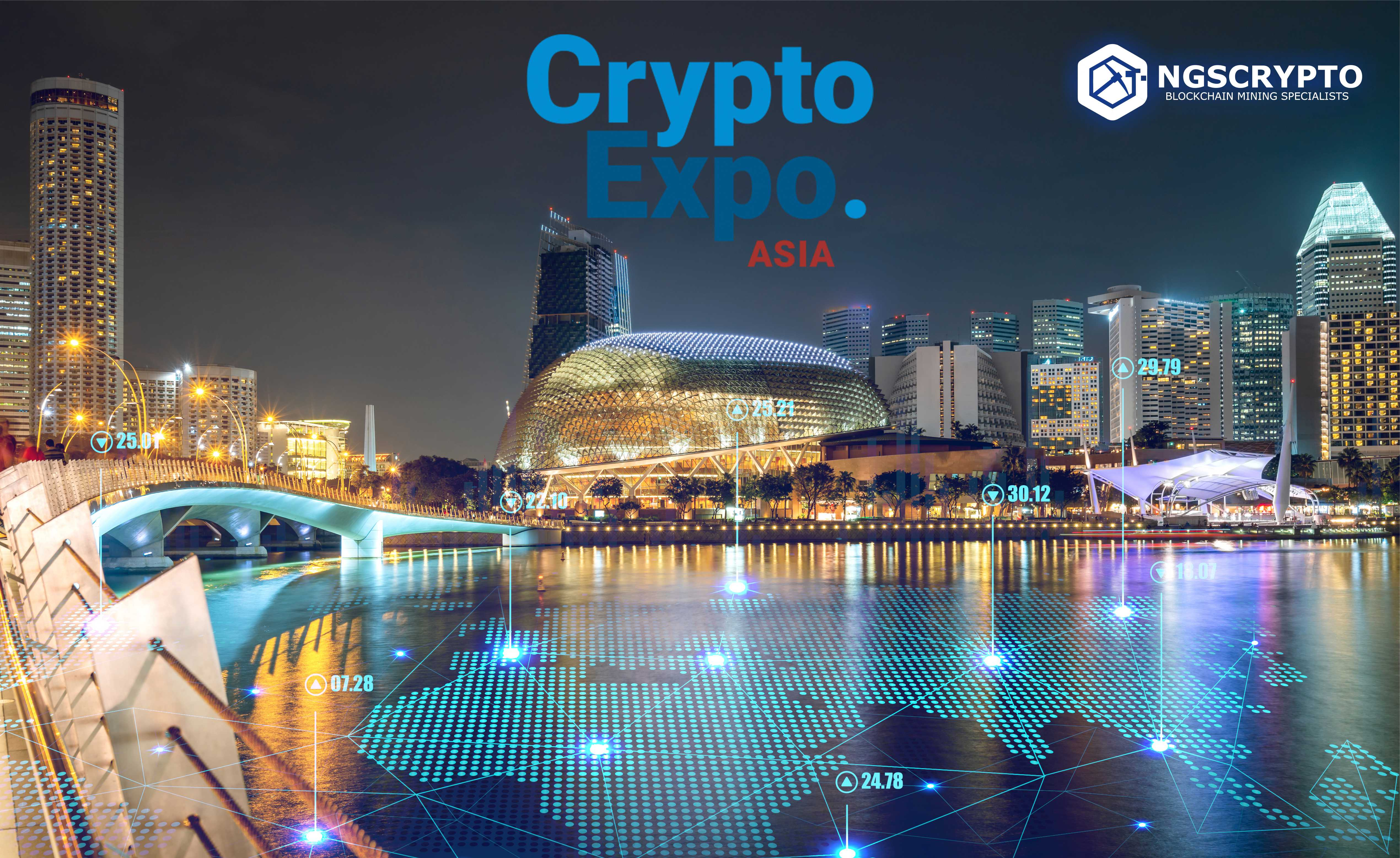 NGS CRYPTO TO ATTEND INTERNATIONAL BLOCKCHAIN, CRYPTOCURRENCY AND CRYPTOEXCHANGE CONFERENCE IN SINGAPORE