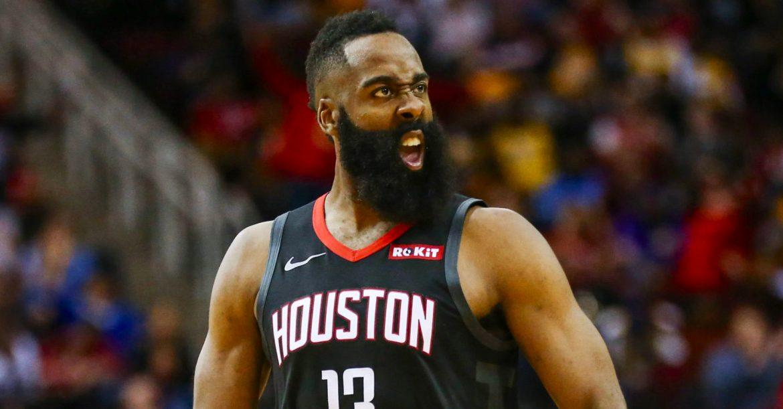 "Harden on fire: ""The Beard's"" historic January"