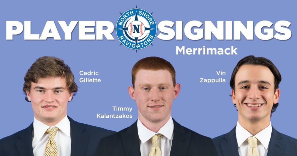 Navigators welcome three from Merrimack College