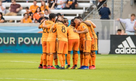 Dynamo group chat during the match against the Whitecaps