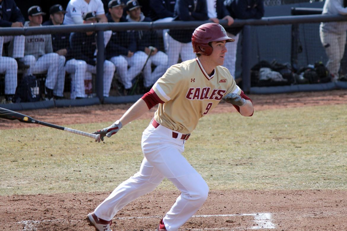 BC Baseball Drops Midweek Contest to UConn