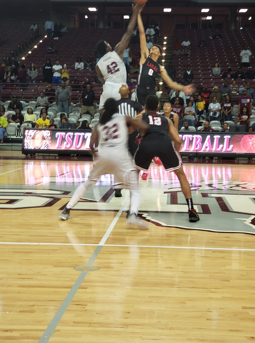 Tigers Win Home Opener Over Lamar, 76-73 For Second Win of the Year