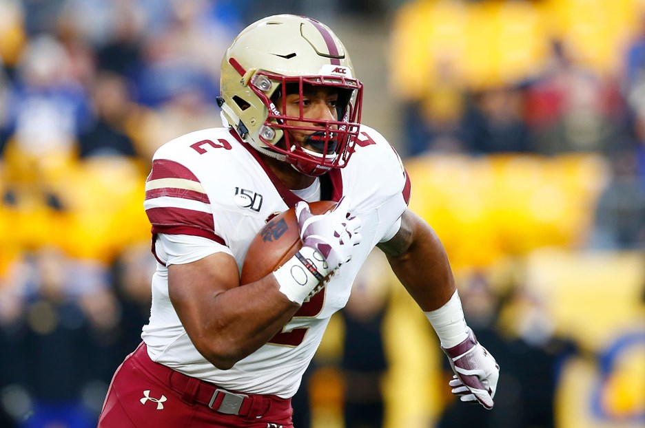 Boston College Football: AJ Dillon Declares for 2020 NFL Draft