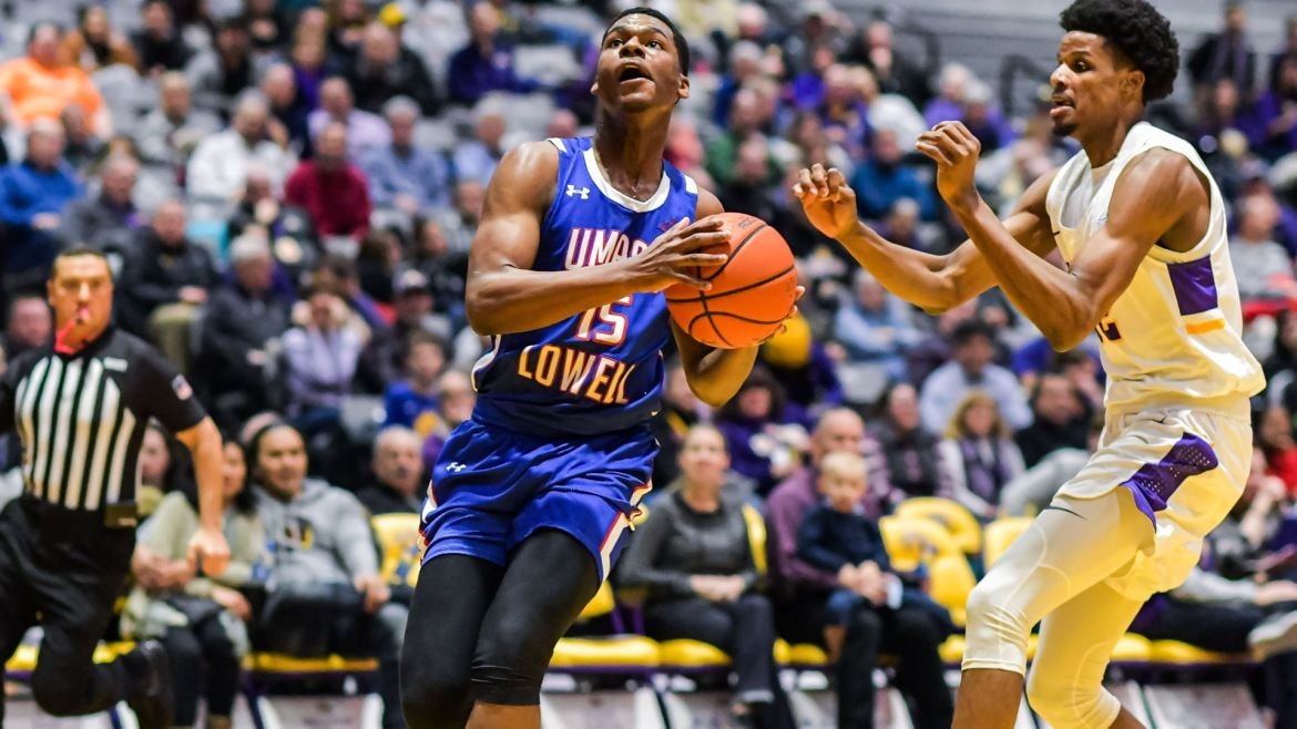 UMass Lowell River Hawks Handed 101-75 Setback at UAlbany