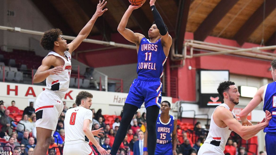 Hartford beats UMass Lowell 89-75 as Ellison scores 20 in the second half