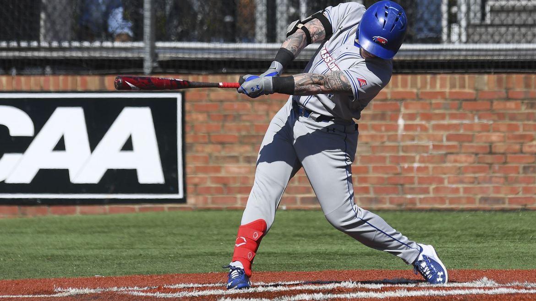 UMass Lowell Baseball: River Hawk Bats and Pen Drop Delaware 8-7