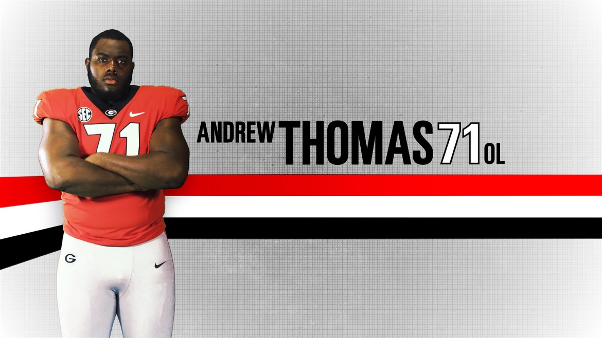 NFL Draft Profile: A look at Georgia OT Andrew Thomas