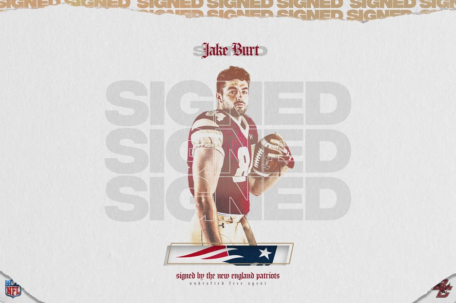 Burt Signs Free Agent Contract with the Patriots