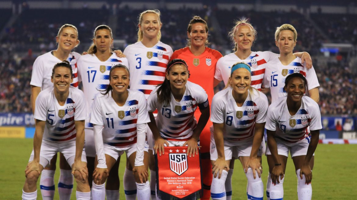 US Womens Soccer Fighting for Equal Pay