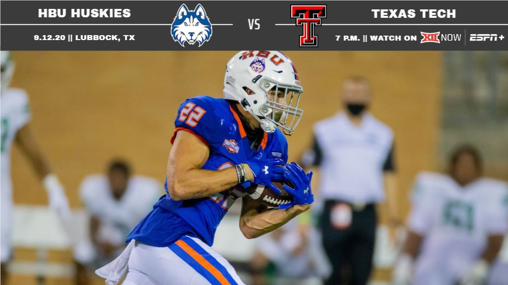HBU Football: Huskies Ready for Texas Tech this Saturday