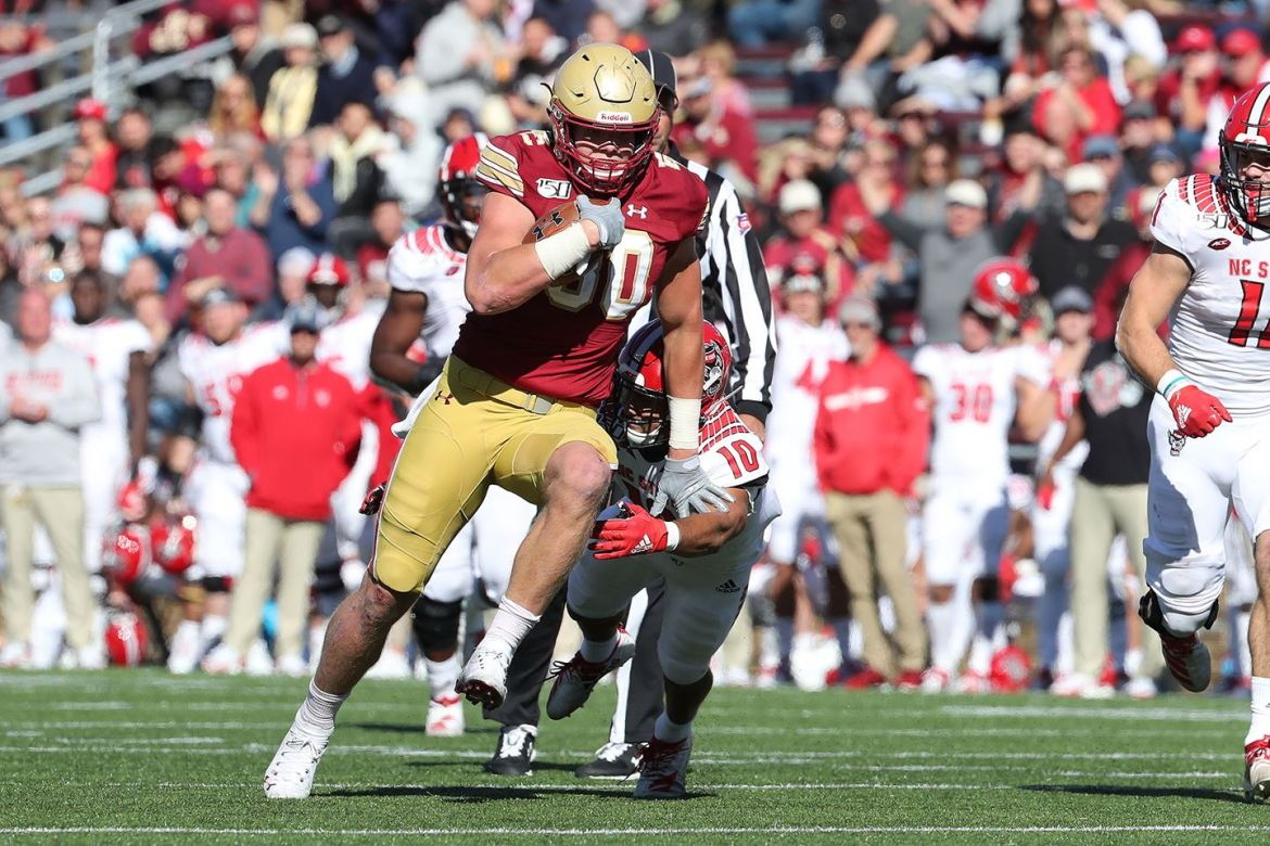 Boston College Football: Week 1 Notes, the Duke Game