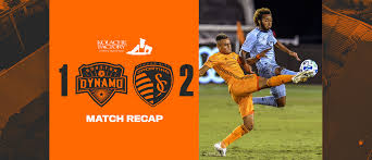 Houston Dynamo fall to Sporting Kansas City 2-1 at BBVA Stadium