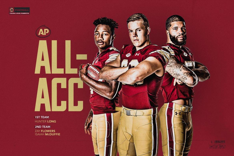 Associated Press Names Three BC Eagles All-ACC