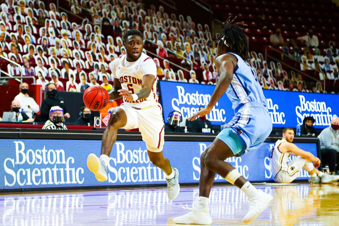 Boston College Eagles Bounce Back with 78-62 win over Maine