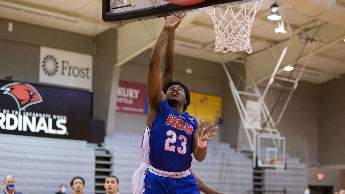 HBU Never Trails, Earns Emphatic Road Win at UIW, 73-57