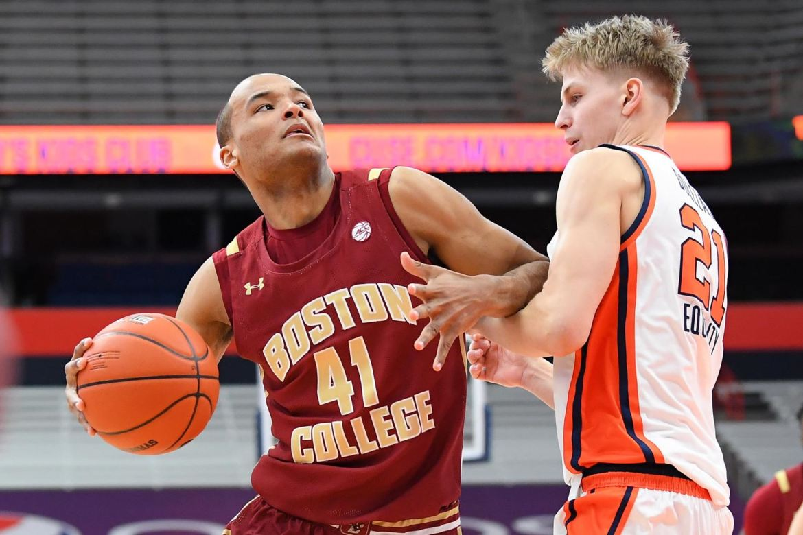 Eagles Drop One at Syracuse, 75-67. Steffon Mitchell posts double-double