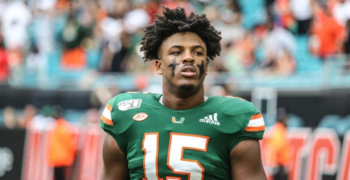 2021 NFL Draft Prospect: Miami Defensive End Gregory Rousseau