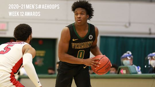 Vermont Ties UMBC Atop Men's #AEHoops Standings Ahead of Showdown
