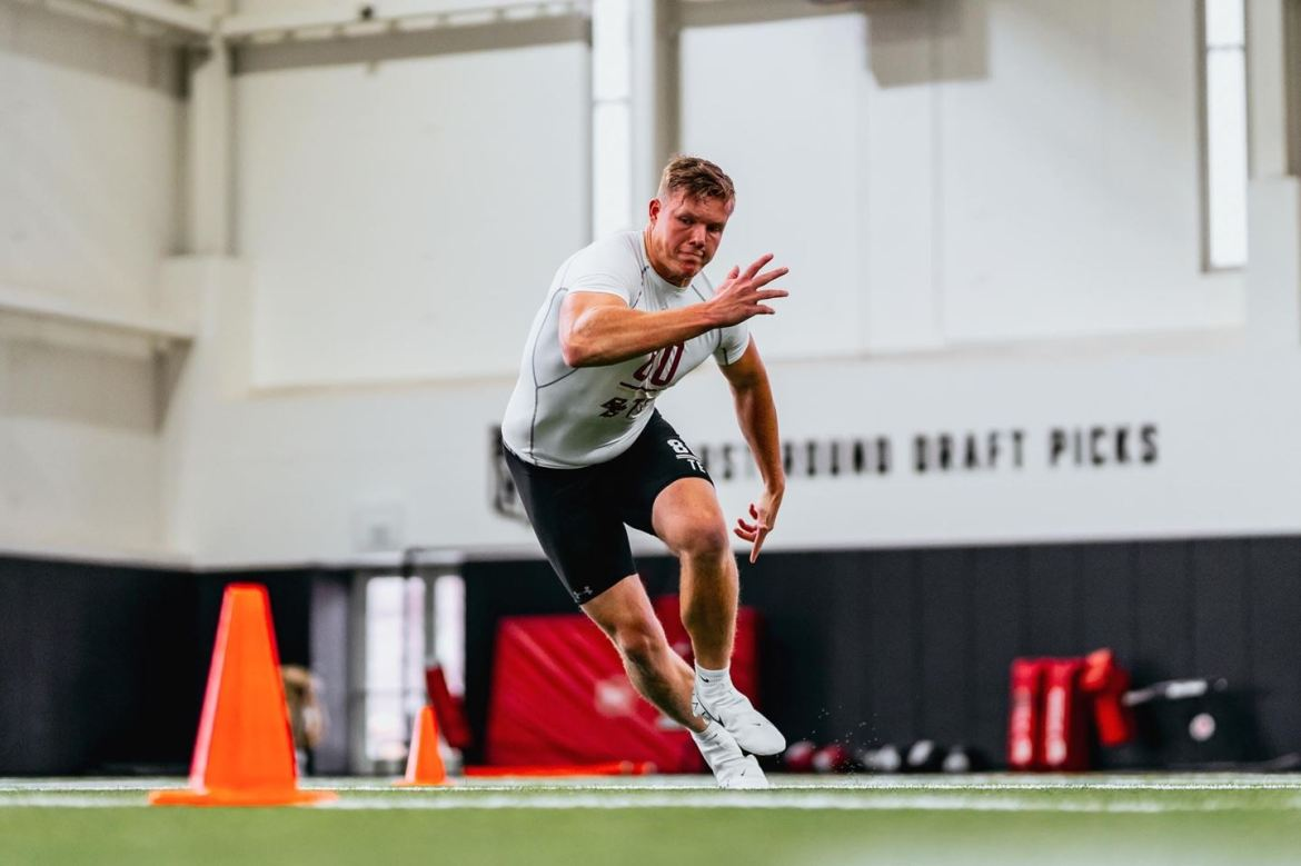 Boston College Football Holds Annual Pro Day Friday