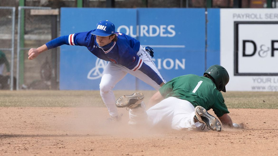 River Hawks Down Bearcats in Game One of Doubleheader
