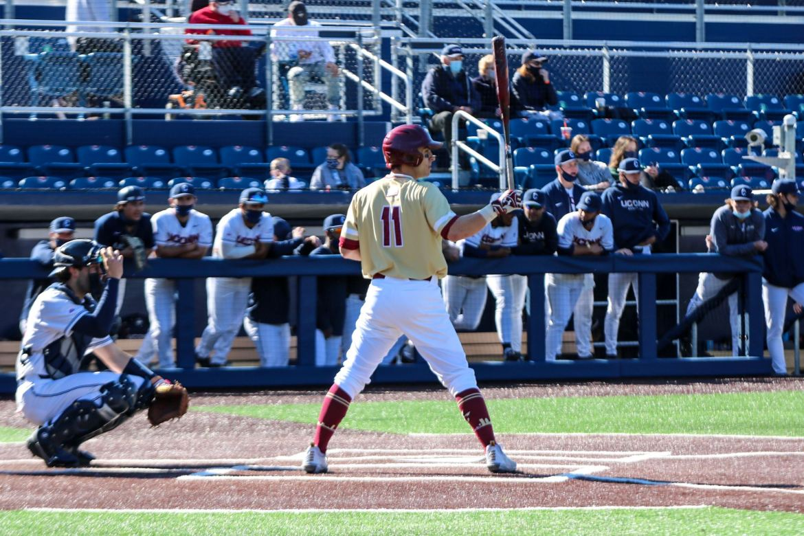 Boston College Baseball Shut Out at Connecticut, 12-0