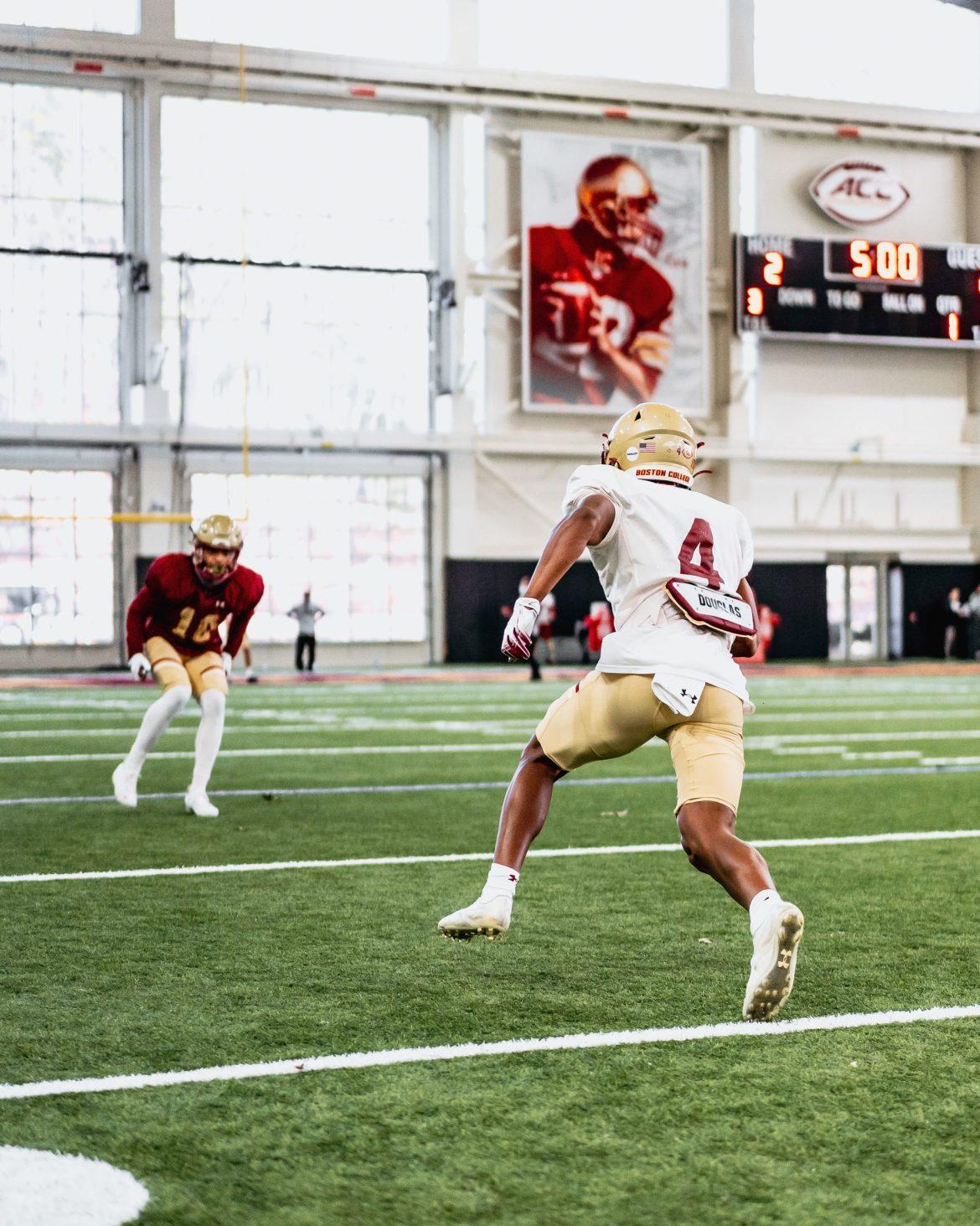 Boston College Spring Football Blog #4: Full Pads Make Debut