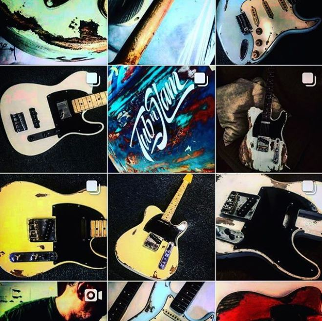 Styles of relics NGS Guitars