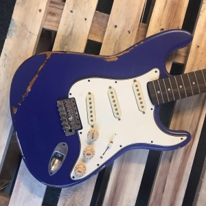 Blue ash fender stratocaster body NGS guitars
