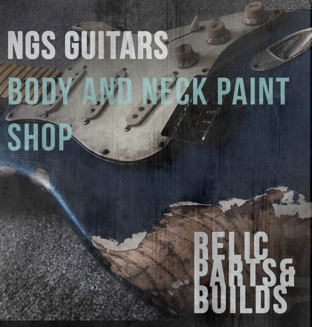 NGS Custom shop fender FENDERnBuilds relic guitars