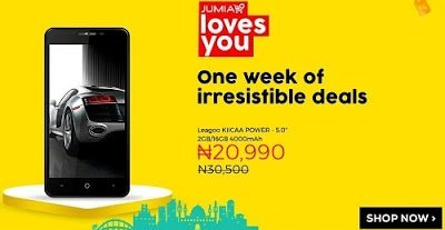 Jumia Loves you deal