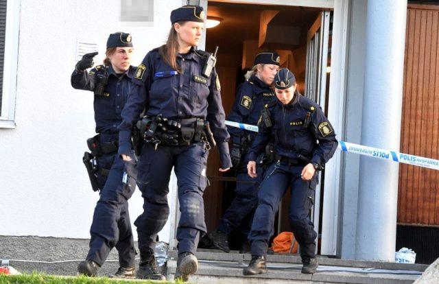 ตำรวจหญิงในประเทศสวีเดน