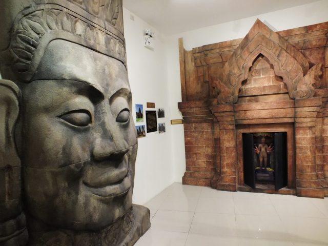 ชัยวรมันที่ 7, ประวัติศาสตร์ขอม, ทวารวดี, บ้านโป่ง, ราชบุรี, พิพิธภัณฑ์