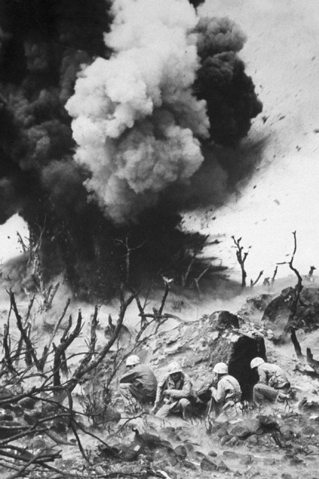 อิโวจิมะ, สงครามโลกครั้งที่สอง