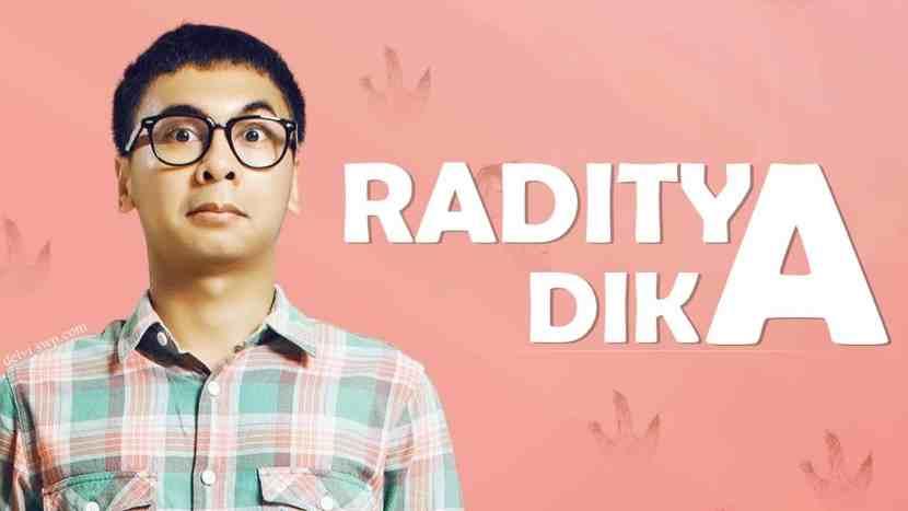 Tips Management Keuangan - Profil Raditya Dika-min