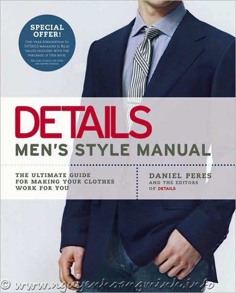 Detail Men's Style Manual