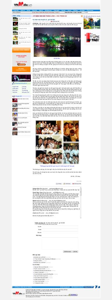 Bài viết trên VnMedia